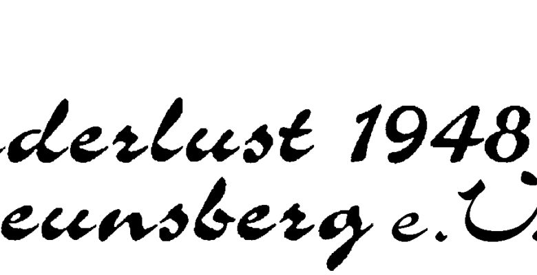 Wanderlust 1948 Breunsberg
